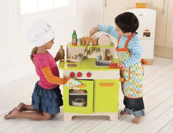 baby koo gourmet chef kitchen for kids. Black Bedroom Furniture Sets. Home Design Ideas