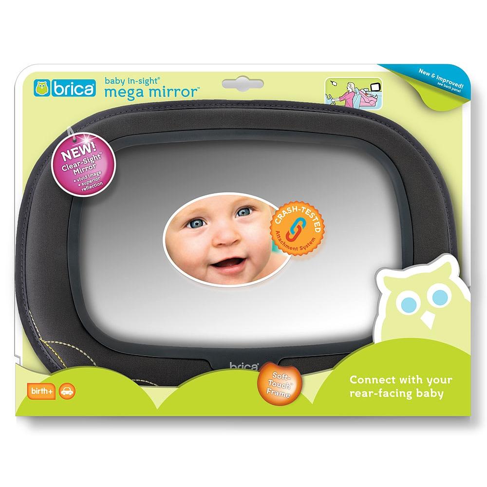 Baby Koo Brica Adjustable Back Seat Infant Safety Mirror