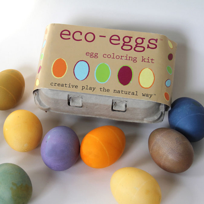 Baby Koo - Eco-eggs All Natural Easter Egg Coloring Kit