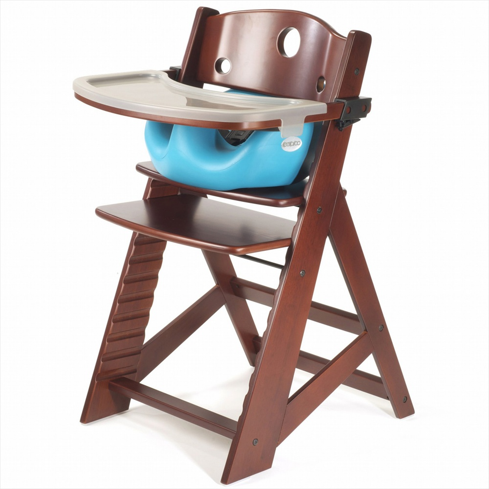 Baby Koo - Height Right High Chair with Infant Insert & Tray
