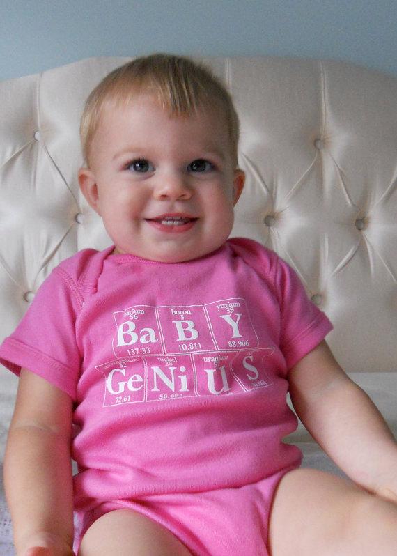 Baby Koo Baby Genius Onesies Perfect Baby Gift