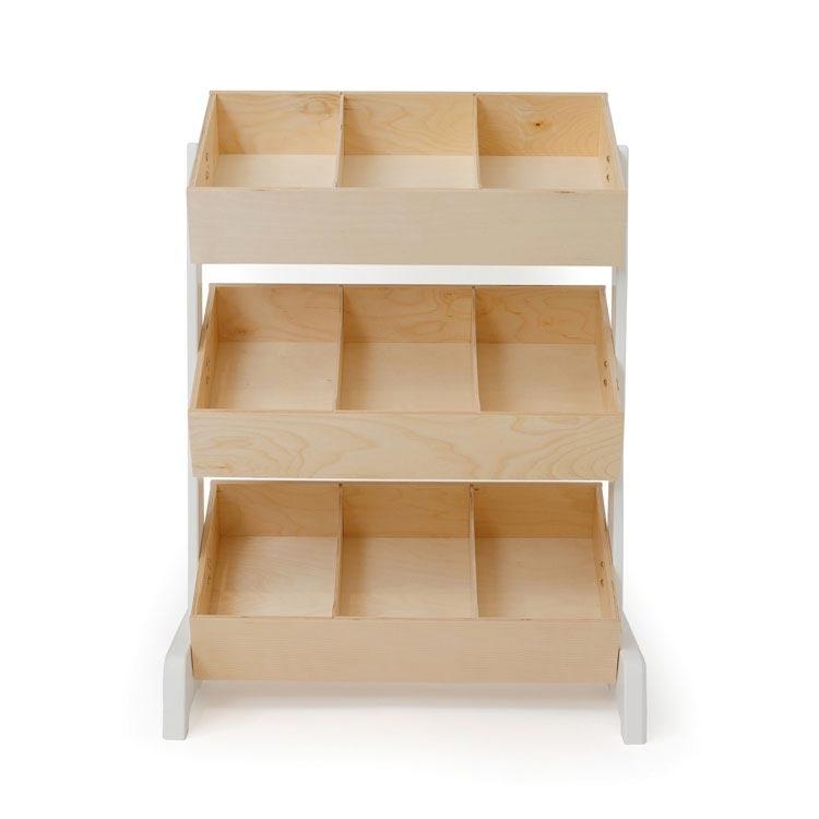 2019 New Wardrobe Kids Organizer Bins Box For Toys: Oeuf Toy Storage For Kids