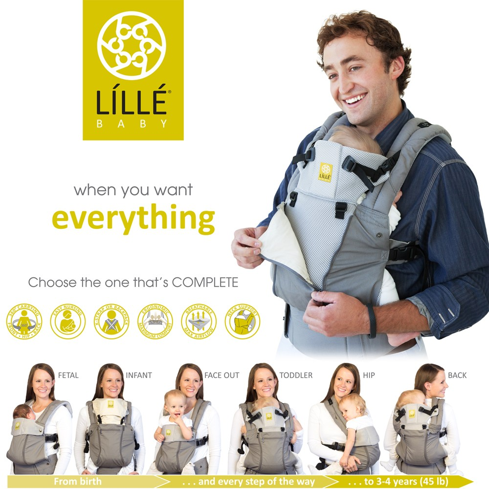 346347a307b Complete All Season Baby Carrier by Lille Baby. View larger image · View  larger image