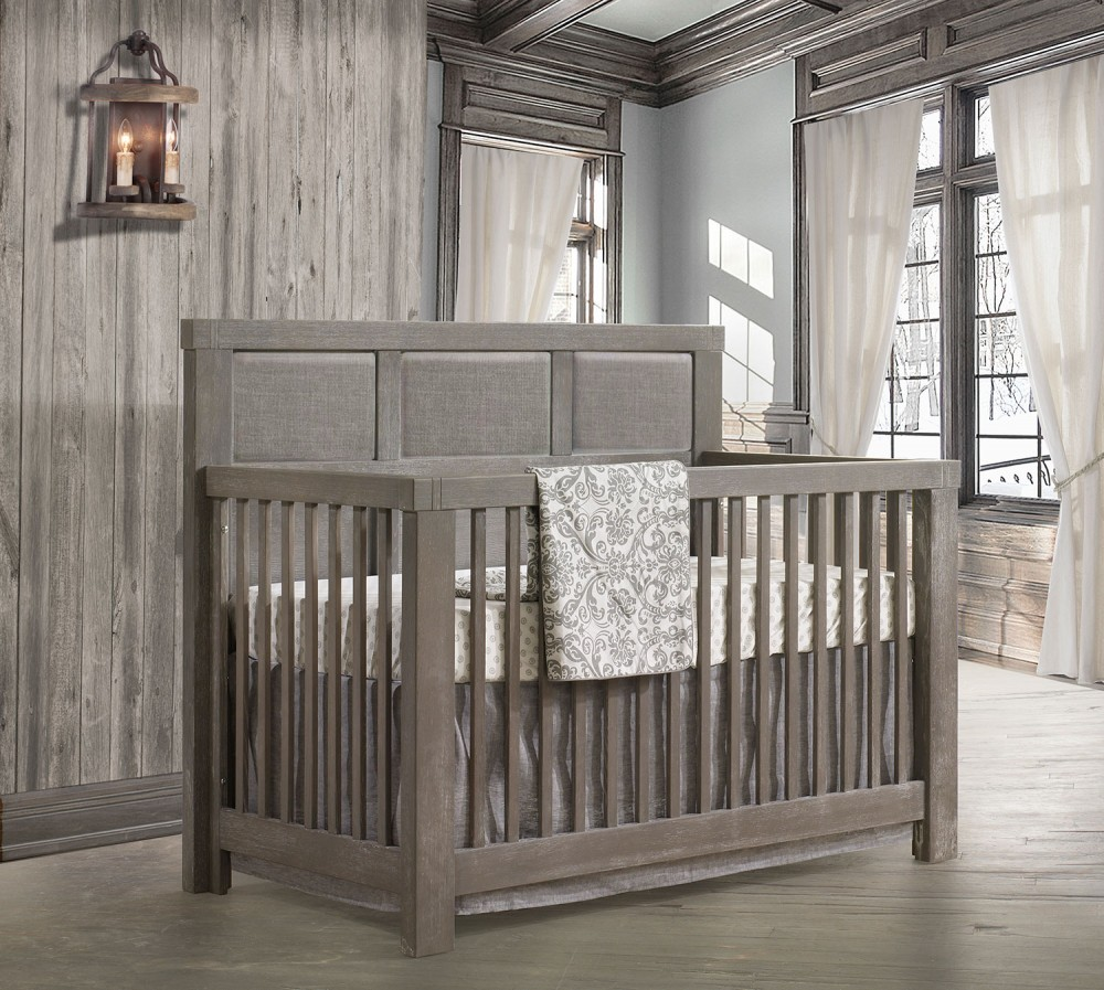 Baby Koo Rustico Convertible Crib By Natart 5 In 1